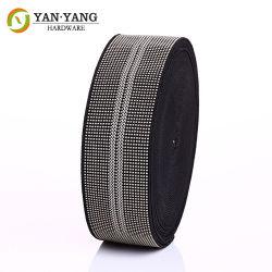 Estofos de qualidade durável cor cinza personalizado 5cm Sofá Correia elástica