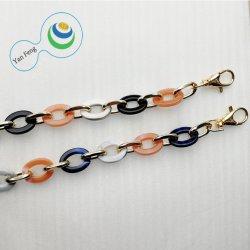 21.5mm de Color de Moda Diseño de coubicación de perro de la serie de gancho de hierro de la cadena de ornamento de la bolsa de plástico de la cadena Accesorios (Yf296-19)