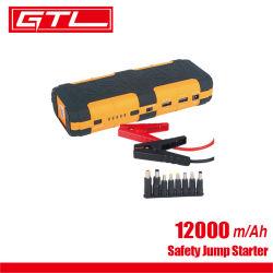 小型12V力バンクの携帯用カー・バッテリーのジャンプの始動機の高い発電、12000mAhスマートな充満ポート(49220008)が付いている携帯用車のジャンプの始動機の電池加減圧機