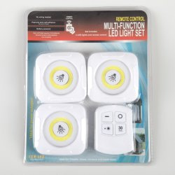Yichen Fernsteuerungsmultifunktions3 LED Nachtlicht-Set