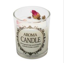 Home Dekoration Geschenk Glaswaren klar und Milchglas Kerzenglas Kerzenhalter