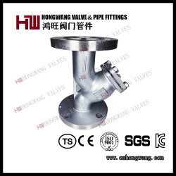 Industriel en acier inoxydable/sanitaires ANSI American Standard de type Y de la crépine du filtre à bride (HW-FL1001)