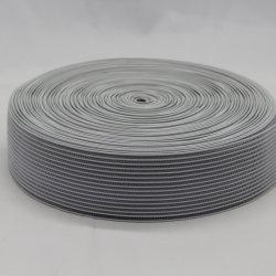熱い販売の特別なDeisgnのトリコットの網白いポリエステルゴムのウェビング