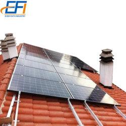 Montage sur toit étanche solaire toit de tuile Kit de rack de montage complète les tuiles du toit solaire à plat