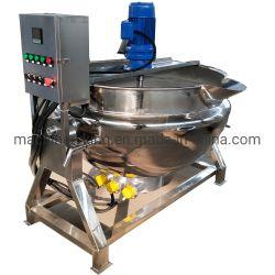 خلاط عالي الجودة، مزود بتدفئة/ستبخار، غلاية/شمنات طبخ صناعية مع خلاط