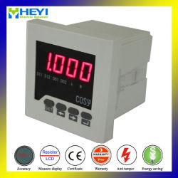 جهاز قياس عامل الطاقة RH-H71 لمقياس اللوحة الرقمية مع نظام ذكي شاشة LED الوظائف