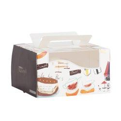 Petit commerce de gros papier imprimé personnalisé les emballages alimentaires Box pour gâteau/thé/Candy