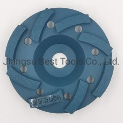 유리화된 본드 연마성 연마 연마 그라인딩 휠