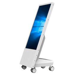 Mobile Standing Portable Digital Signage mit Rollen LCD-Display Einkaufszentrum Poster LCD-Video-Player mit Akku