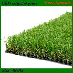 Синтетический газон, сертифицированный SGS, помещая зеленый сад стены искусственная трава Газон для ландшафтных работ украшение ковровое покрытие для ковров, фиктивный трава 25 мм 35 мм