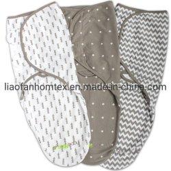 Manta Swaddle Bebé Ajustável Fácil 3 Pack de sono do lactente Sack Wrap recém-nascidos por filhotes confortável