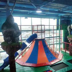 핫 셀링 실내 놀이터 맞춤형 색상 및 구조 멀티플레이어 어린이 장난감 소프트 놀이터, 미국식 스탠다드 볼에 있는 금고 수영장 PVC 코트