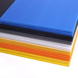 Strato di plastica ondulato scanalato in vuoto dei pp/strato trasparente di Coroplast pp