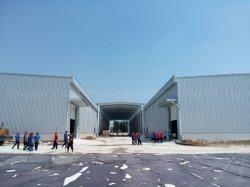L'industrie Atelier moderne entrepôt modulaires préfabriquées serre la conception des bâtiments en métal léger châssis en acier galvanisé la structure des produits de construction
