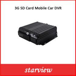 監視3G SDのカードの機密保護の手段CCTV H. 265の移動式車DVR