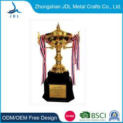 Comercio al por mayor de metal chapado en oro personalizadas artesanales de decoración Deporte Premio Trofeo de la Copa de la Super Bowl (011).