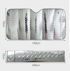 Водонепроницаемый кожух автомобилей дышащий половины верхней части ветрового стекла против УФ снег пыли солнечную тень защиты снег рампы