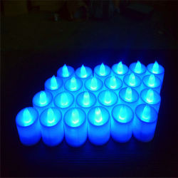 Elektronische Kaars van de Steunen van de Decoratie van het Trefpunt van de Kaars van het Huwelijk van de Verjaardag van het Huwelijk van de LEIDENE Lamp van de Kaars de Creatieve