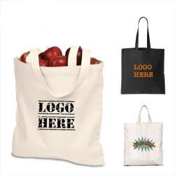 昇進のトートバック、Non-Wovenショッピング食料雑貨入れの袋、キャンバス袋は、個人化するか、またはドローストリングの綿袋をカスタマイズしたり、または再使用可能な袋、Promotのためのカスタムロゴのギフト袋リサイクルする