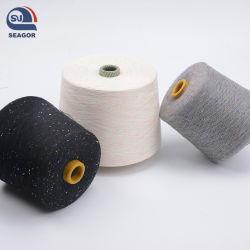 De nombreux types uniquement au filetage de la machine et de Tissage Tricotage (OE & ring filé) 10S/1 20S/1 30S/1 30S/2 40S/1 50S/1 (Certificat : Oeko-tex100/GRS/BCI/GOTS)