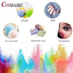 Cosmaireの真珠の顔料のプライベートラベルの石鹸のための装飾的な雲母粉はアイシャドウのリップをネイリングする