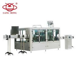 A linha de produção de água perfeito, Vaso de pequena escala máquina de enchimento de água, água mineral de plantas produtoras de Enchimento