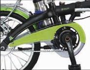P E en plastique en forme de protection de chaîne de vélo de couvercle de la chaîne Fabricant 44t