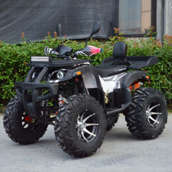 Llanta de aleación de 12 pulgadas de ancho 250cc potente Quad ATV 4x2