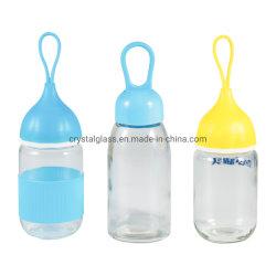 Belle piscine pour enfants Animaux cuvette en verre bouteille de verre vide de cadeaux de Noël 350ml