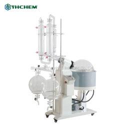 Equipamento de destilação fraccionada de vácuo para destilação de óleo de cânhamo