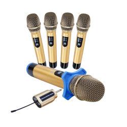 كاريوكى محترف ميكروفون كوردى ذو صوت لاسلكى محمول KTV DJ يعزف مؤتمرات خارجية ميكروفون استديو ديناميكى