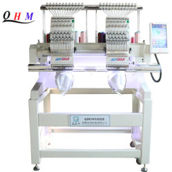 Fonctionnement aisé deux TÊTES Machine à broder bouchon Dahaotouch Garmemt multifonction multifonction d'écran