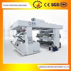Высокая скорость четыре цвета продовольственной бумажных мешков для пыли/пластиковый пакет Flexo/ Flexographic печать машины с помощью воды чернила