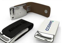 La promoción de Cuero Regalos USB Flash Drive USB Memory Stick
