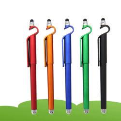 3 in 1 penna divertente di marchio di Ballpen dello stilo con il basamento del telefono