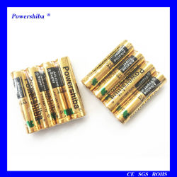1.5V non ricaricabile 10 anni durata a magazzino IEC standard alta Batteria alcalina AA LR6 AM3 per giocattoli con RoHS
