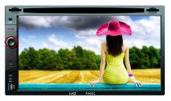 Bluetooth/리모콘이 있는 더블 DIN 차량용 DVD 내비게이션 오디오 플레이어