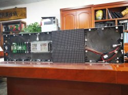 750x250mm barre LED Intérieur signer P4.81mm de hauteur de pixel 2020 Nouveau produit