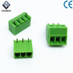 Grün 10vias Austauschen Sie die Steckklemme Phoenix Contact 3,5 Pitch Block 300V 8A