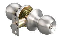 Set di bloccaggio per manopole tubolari, blocco porte, manopola a sfera, acciaio inox EntY