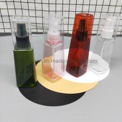 قناني رشاش بلاستيكية من نوع البرج سعة 100 مل لعطور التعبئة الكحولية التغليف