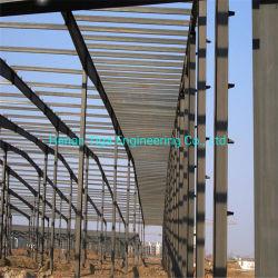Vorfabriziertes Haus-Baustahl-Rahmen-Fabrik-Lager-Baumaterial