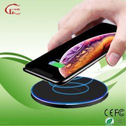 15W iPhone를 위한 휴대용 Qi 무선 충전기 셀룰라 전화 비용을 부과 패드 배터리 충전기 11 직업적인 최대