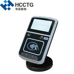 Pagamento de barramento de cartão bancário Paypass tela LCD grande Leitor de cartão USB para EMV NFC Writer ACR123