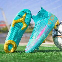 El hombre botas de fútbol en venta al por mayor moda botas de fútbol soccer