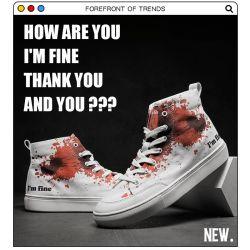 Ursprüngliche handgemalte 2020 neue UnisexGraffiti-hohe Spitzensegeltuch-Schuhe für Mann-Frauen