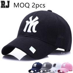 Échantillon gratuit d'impression personnalisé patch broderie logo blanc chapeau de Golf de sport, commerce de gros vide élection camionneur de maillage chapeaux