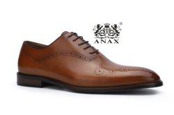 새로운 패션 및 고품질 인기 있는 남성용 S Lace-Up 비즈니스 격식 가죽 캐주얼 신발을 드레싱합니다