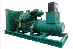 Motore 60db 350kVA silenzioso 260kw Genset diesel di Googol con ATS