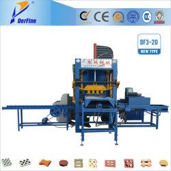 Df3-20 máquina para fabricação de tijolos de material de face de cor